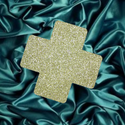 s-_gold_sparkly_plus__green_satin_fabric